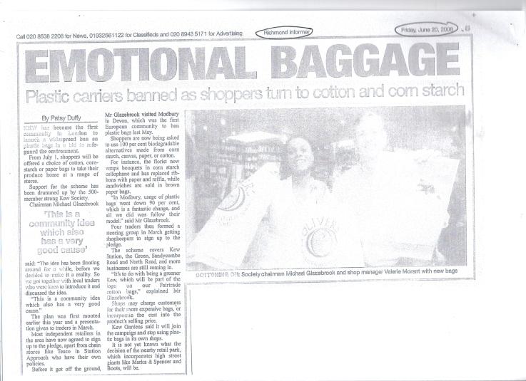 Richmond Informer - Greener Kew - June 20 08
